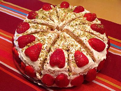Erdbeer Sahne Torte Rezept