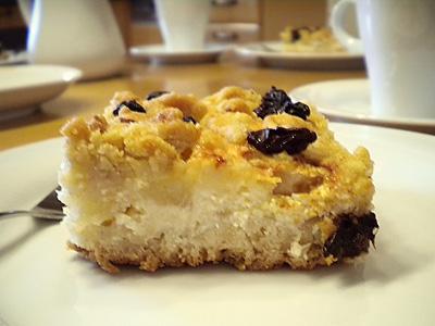 Noras Apfelkuchen Mit Quark Pudding Creme Und Nussen